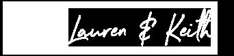 Lauren & Keith Logo